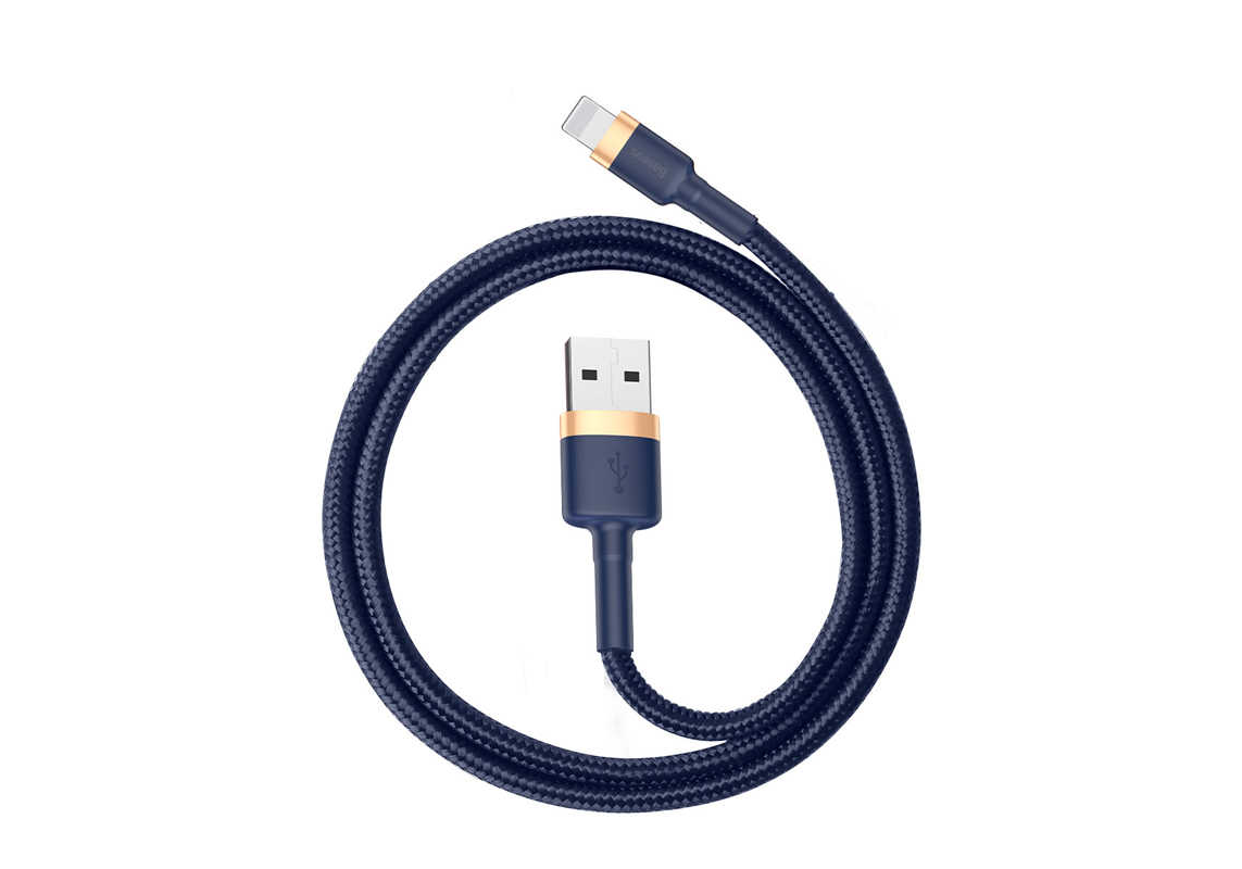 USB - Lightning 1m (Baseus cafule Cable USB For iP 2.4A)